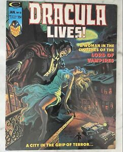 DRACULA LIVES MAGAZINE #10-1ST LILITH-DRACULA'S DAUGHTER SOLO STORY VF/NM 9.0