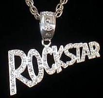 """ROCK STAR"" Designed Elegant Necklace ! Pendant Size - 80 X 40 MM approx."