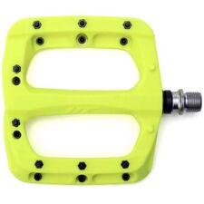 I componenti HT PA030 in nylon composito Sigillato Cuscinetto MTB PEDALI BICI FLAT GIALLO