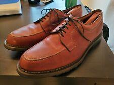 Allen Edmonds 11 D Wilbert Comfort Split Toe Oxford Shoes Brown Leather CXL