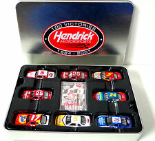 New Hendrick Motorsports 100 Victories 1/24 & 1/64 Diecast Car Set With Figures