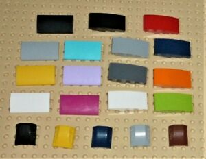 LEGO - SLOPES CURVED, Choose Part, Colour & Qty Z10