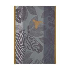♥ Le Jacquard Francais ♥ Geschirrtuch Zebra family Grey 60 x 80 baumwolle