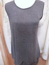 JOIN CLOTHING SLEEVELESS TUNIC DOUBLE LAYER SMALL