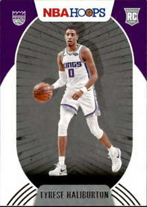 2020-21 Panini Hoops #238 TYRESE HALIBURTON RC Rookie Sacramento Kings