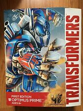 NEW!!! Transformers Optimus Prime Figure Age of Extinction First Edition