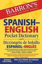Barron's Spanish-English Pocket Dictionary: 70,000 words, phrases & examples pre