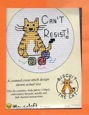 Biscuit the Cat X Stitch Kit by Mouseloft Can't Resist
