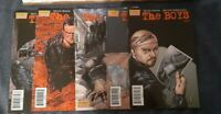 The Boys Comic Lot issues 10-14  All Signed  by Garth Ennis TV SHOW