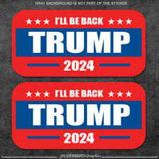 Trump 2024 Hard Hat Stickers Decal Vote Usa Elect America President Vinyl Helmet