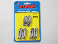 ARP 400-1101 Stainless Steel Header Bolts 6-Point 3//8-16 Small Block Chevy SBC