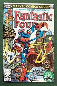 Fantastic Four #226 Marvel Comics Bronze Age Thing Human Torch Invisible vf  l2