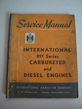 Ih International Td 25amp30 Crawler Tractor 295495 Scraper 817 Engine Shop Manual