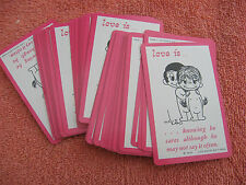 """Love is "" ARRCO Playing Cards""Knowing be cares ..."" Retro 70's  1973"