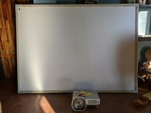 Promethean active board system with projector and remote.