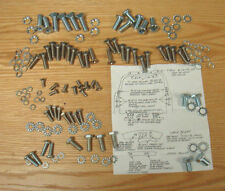1955 1956 1957 CHEVY NOMAD TAIL GATE HARDWARE KIT Upper & Lower 126 pieces