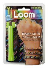 Lot of Five!! Optari Mini Loom Multicolor Rubber Band Bracelet Making Kit