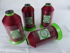 ZWICKY ZWILON lot de 4 bobines fil à coudre , 1600 mètres rouge bordeaux 672
