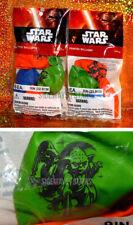 STAR WARS BALLOONS 2 PACKS Darth Vader & Yoda epic cool lightsaber party supply
