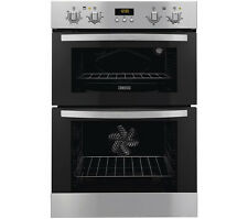 Zanussi ZOD35511XK Integrated Built in 60cm Electric Stainless Steel Double Oven