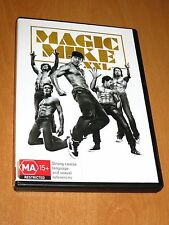 MAGIC MIKE XXL ( 2015 , DVD ) [ REGION 4 ] CHANNING TATUM * EXCELLENT *