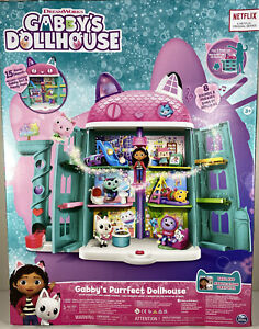 NEW IN BOX Netflix Dreamworks Spin Master GABBY's PURRFECT DOLLHOUSE Play Set