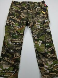 Under Armour Field Ops Pants Forest Camo Early Season 30x30 NWT1313212-940 Nwt