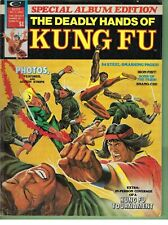 - -> Deadly Hands of Kung-Fu Special #1 .. 1977 B&W Marvel Magazine .. VG/F
