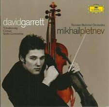 CD David Garrett, Violinkonzerte von Tchaikovsky & Conus, RNO, Mikhail Pletnev