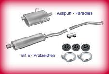 Abgasanlage Auspuff Schalldämpfer Peugeot 406 2.0 16V Limo. (97KW) -> 1999+Kit