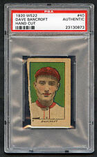 1920 W522 Dave Bancroft #40 PSA Authentic HOF Hand Cut NY Giants (814-1)