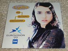 Eurovision Song Contest  1999 Spain Lydia No Quiero Escuchar CD