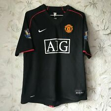 #7 Ronaldo Manchester United Away football shirt 2007 - 2008 Nike Soccer Jersey