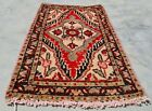 Authentic Hand Knotted Vintage Hamidoun Wool Area Rug 2 x 1 Ft (11944 KBN)