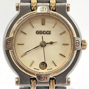 GUCCI Watches 9000L Quartz vintage Stainless Steel Women