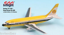InFlight500 Royal Brunei Airlines V8-UEB Boeing 737-200 1:500 Scale Diecast