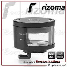 RIZOMA CT127B SERBATOIO FLUIDO OLIO NEXT POMPA FRENO ANTERIORE MOTO NERO BLACK