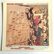 BERNARD HERRMANN – The Four Faces Of Jazz 1973 Decca PFS 4280 VG+/VG