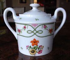 RAYNAUD Ceralene Limoges porcelain GUIRLANDES covered sugar