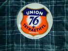 "VINTAGE ORIGINAL1932 UNION 76 GAS PUMP GLOBE LENS 15"" RARE ADVERTISING   LOOK"