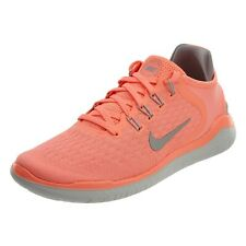 1178b952cdfa1 Nike RN 2018 Womens 942837-800 Crimson Grey Knit Running Shoes Size 7