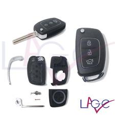 Ricambio Chiave Hyundai 3 Tasti Guscio con Lama per Telecomando i20 i30 i40 ix20