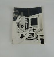 1959 Photograph Capital Airlines Operator on Univac Machine