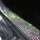 Car Diamond Sill Door Bumper Bling Trim Universal Strips 2PC For Mercedes Models