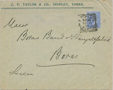 "2455 ""SHIPLEY / YORKSHIRE"" Squared Circle Postmark (Cohen Type 1st II CT) superb"
