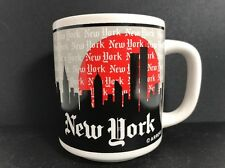 New York City Skyline Twin Towers World Trade Center Arrow Coffee Tea Mug
