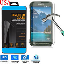 9H ULTRA CLEAR TEMPER GLASS SCREEN PROTECTOR For SAMSUNG GALAXY S5 Active G870