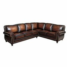 Leather Abbyson Living Sofas Loveseats Chaises eBay