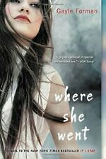 Where She Went by Forman  New 9780142420898 Fast Free Shipping-,