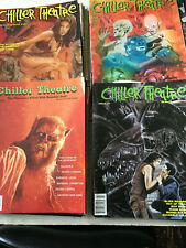 Chiller Theatre THE BEST Horror Movie Magazine huge lot of 19 issues